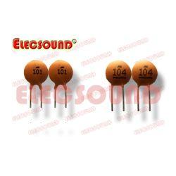 Npo van het Lage Voltage van de Condensatoren van de schijf Ceramische, X7r, Y5V