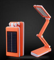 Plegado de la batería La lámpara de mesa LED, LED Lámpara de mesa Solar