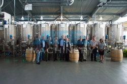 fermentatori conici rivestiti del vino dell'acciaio inossidabile 150L