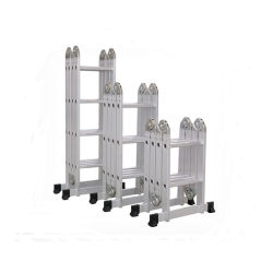 El Aluminio escalera multifunción con 4*3