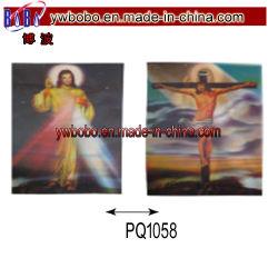 Itens de terceiros a imagem 3D de imagem de plástico para Jesus (PQ1058)