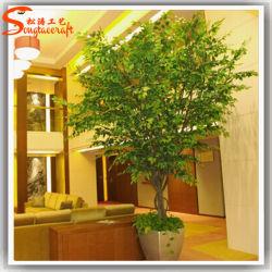 Home decorazione artificiale Live Ficus Tree Bonsai