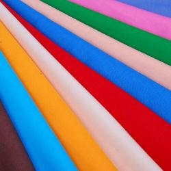 Geverfd Tc 90% Polyester 10% Katoen Poplin Pocket T-Shirt Stof
