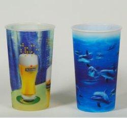 プロモーションギフト用食品グレード 3D レンズ交換プラスチックカップ