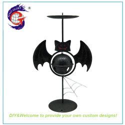 تصميم شمعة هالوين المعدنية المصنوعة يدويًا