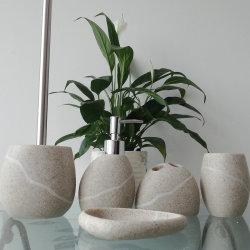 Haute qualité Décoration maison 5 pcs accessoire Polyresin toilettes