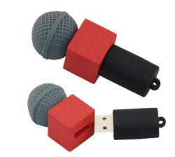 Силиконовая форма для микрофона Cute подарок USB