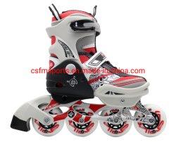 高品質のインラインスケートのローラースケートの調節可能なスケート