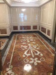 Mármol Natural/Onyx mosaico el patrón de chorro de agua decorativos Baldosa Interior