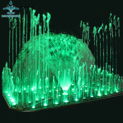 Usine Hôtel professionnels de la décoration colorée à LED de la musique de danse Fontaine à eau
