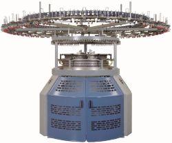 Suntechの織物機械テリーおよび羊毛または自動ストリッパーの/Knittedファブリックジャカード単一のジャージー円の編む機械