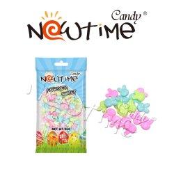 NTC18926右旋糖の袋の甘く多彩なフルーツの味のイースターキャンデー