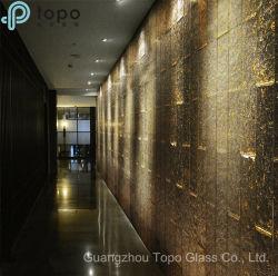 Vetro macchiato di arte calda della fusione per la decorazione della parete (HM-TP001)