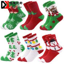 Sade Soft Bonitinha engraçado meias de sapata de microfibras Fuzzy acolhedor inverno Natal quente meias macias