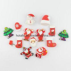 Cadeaux de Noël de promotion Hotsel Santa Claus Christmas Tree Cartoon forme lecteur USB Stick personnalisé