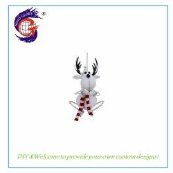 Het hangende Metaal van de Decoratie van Kerstmis van het Rendier voor Uw Decor van de Muur