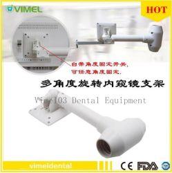 Support en plastique de l'endoscope dentaire support pour moniteur à écran LCD