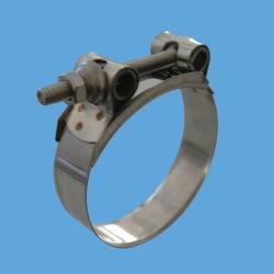 Band-verzinkte Schraube des Edelstahl-430 und Mutteren-robuste Bohrrohrklemmen mit hohler Ring-Mutter