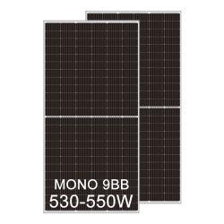 2021 Nouveau M10 530W 540W 550W moitié Cut Mono PANNEAU SOLAIRE PV Module PERC