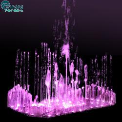 Для использования вне помещений красочных изделий из нержавеющей стали танцевать Музыкального фонтана со светодиодной подсветкой