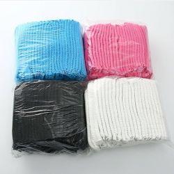 Latex frei für globale Märkte verschiedene Farben und Größen Krankenschwester Einweg-PP-Clip-Kappen mit Haarschutzkappe