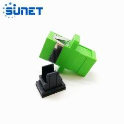 플랜지 포함 SC 어댑터 단일 모드 Simplex 광섬유 어댑터