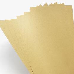 Pulpa de madera virgen 610mm 860mm 70gramos 80 GSM 100 gramos de papel Kraft marrón para la fabricación de bolsas de compras