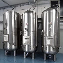 La fabrication de tôle en acier inoxydable (Vertical) du réservoir de stockage , la capacité (5-3500L)