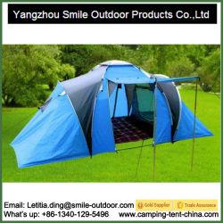 Tenda di campeggio esterna della famiglia della breve persona di produzione 6