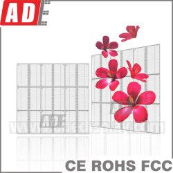 Migliore LED schermo di alta luminosità per costruzione che fa pubblicità allo schermo trasparente del centro commerciale della finestra di memoria LED