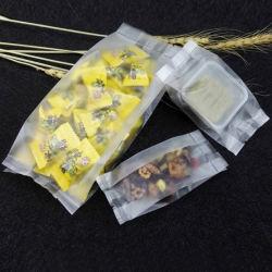 100 % PLA Amidon de maïs biodégradable PLA compostables Côté Clair Transparent 3 Le dos étanche emballage scellé cosmétique / Cellulaire / Papeterie / paquet alimentaire