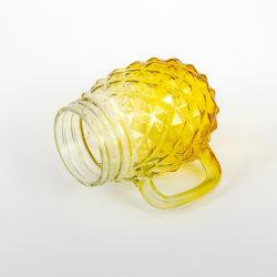 La fábrica al por mayor de la copa de cristal de agua de la copa de cristal Mason/ Frasco de vidrio