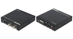 100m de l'extension HDMI par un seul câble coaxial avec Bi-Direction IR et sortie en boucle
