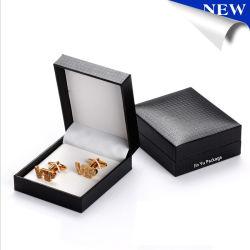 Romantischer kundenspezifischer Schmucksache-Geschenk-Manschettenknopf-Gleichheit-Klipp-verpackenkasten-Kasten