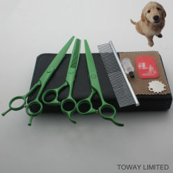 Edelstahl-Qualitätshaustier Scissors Hundepflegenden Haar-Schnittmeister