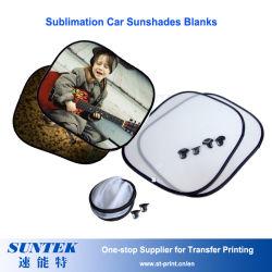 La sublimation voiture fenêtre parasol blancs Nylon Les écrans solaires