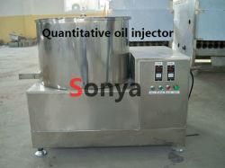 Iniettore dell'olio/macchina quantitativi del condimento dello spuntino della macchina/spruzzo del cioccolato