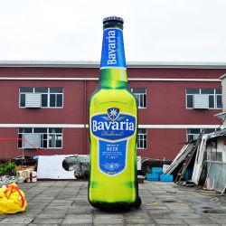 Reklameanzeige-aufblasbares Modell, Förderung-aufblasbare Bierflasche