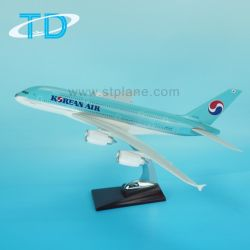 훈장 수지 가늠자 에어버스 모형 비행기 A380