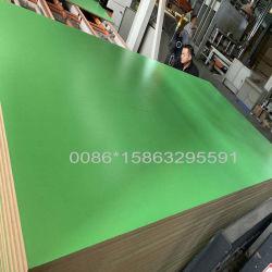 Diante de melamina em madeira MDF de média densidade para material de construção Decauration