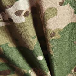 65%ポリエステル35%綿のブレンドによって編まれる軍隊プリントカムフラージュの軍服ファブリック