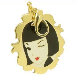 Pendente su ordinazione di Hangbag del metallo di disegno piacevole delle donne