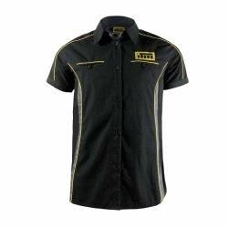 Teamwear 많은 면 사건 직원 착용을 경주하는 것은 자수 주문 Upf 셔츠를 Dri 적합했다