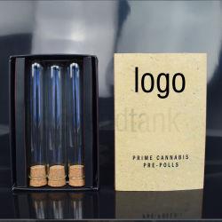 OEM/ODM Wholessales Cbd EのタバコのPrerollの管ガラスの破裂音ロール管のPackadeボックスタバコの管