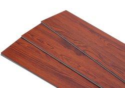 Строительный материал Spc/Rvp виниловый пол пол в помещении водонепроницаемый чехол ПВХ, нажмите на полу плитка