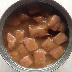 Bloco da bolsa em molho de carne de cachorro molhado molhado Alimentar Gatos Líquido Snack Pet