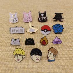 Dark/Metal/Button/Pin/Tin/Police/Military/Emblem/Name/Soft Enamel Badge Hard Enamel Lapel Pin에 있는 주문 Glitter 또는 Glow