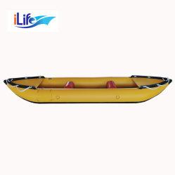 O Ilife 3,8 m de PVC/Hypalon Inflatablet Caiaque Pesca