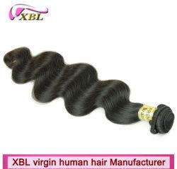 Stukken van het Menselijke Haar van de Groothandelsprijs van de Fabriek van Xbl van Guangzhou de Braziliaanse