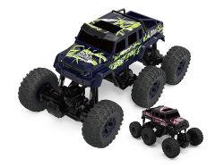 968612b大きい2.4G電気6つのWd車のプラスチックリモート・コントロールオフロード手段RCのトラックのおもちゃ